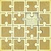 Ретро фон Puzzle