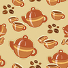 Vector clipart: coffee seamless pattern
