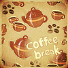 Vector clipart: coffee cups and coffee pot