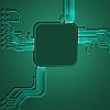 Moderner Techo-Hintergrund | Stock Vektrografik