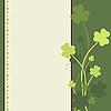 St. Patrick`s Day card | Stock Illustration