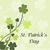 Vector clipart: St Patrick`s Day card