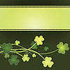 Vector clipart: St. Patrick`s Day card 04