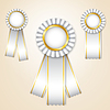 Vector clipart: Set of prize ribbons