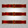 Vector clipart: Belts with buckle