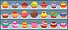 Векторный клипарт: Магазин сладостей