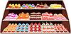 Vector clipart: Sweet shop
