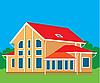 Vector clipart: Cottage