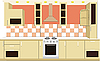 Vector clipart: Kitchen furniture