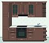 Векторный клипарт: Мебель для кухни