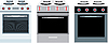 Vector clipart: Cookers. three different kinds