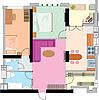 Vektor Cliparts: Wohnung Zeichnung.