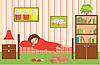 Женщина спит | Векторный клипарт