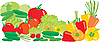 Vector clipart: Vegetables