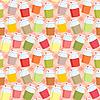 Seamless jars with jem pattern