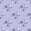 Векторный клипарт: Бесшовные фиолетовый