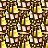 Vector clipart: Seamless products pattern
