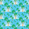 Vector clipart: Seamless palm pattern