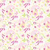 Vector clipart: Seamless children's things pattern