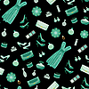 Vector clipart: Seamless fashion pattern