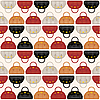 Vector clipart: Seamless bags pattern