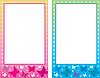 Vector clipart: Baby photo frame.