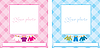 Vector clipart: Baby photo frame