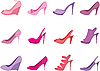 Female shoes | Stock Vector Graphics