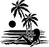Vector clipart: Tropics.