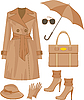 Fashion set. | Stock Vector Graphics