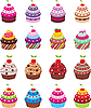 Cupcakes | Stock Vector Graphics