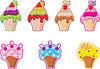 Vector clipart: Cupcakes