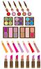 Vector clipart: Set of decorative cosmetics
