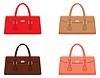 Vector clipart: Female bags