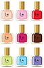 Nail polishes | Stock Vector Graphics