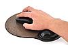 无线鼠标和mause垫 | 免版税照片