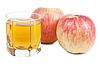 Zumo de manzana | Foto de stock