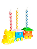 Birthday candles | Stock Foto