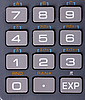 Calculator keyboard | Stock Foto