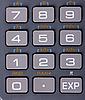 计算器的键盘 | 免版税照片