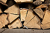 ID 3150899 | Stack of firewood | High resolution stock photo | CLIPARTO