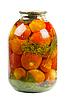 Jar of tomatoes | Stock Foto