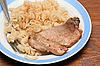 Obiad | Stock Foto