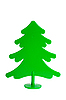 Plastic pine fir tree | Stock Foto