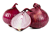 Red onions | Stock Foto