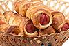 Sausage rolls | Stock Foto