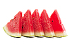 Fresh slices of watermelon | Stock Foto