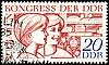 两名年轻妇女邮戳   光栅插图