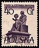 Photo 300 DPI: Polish astronomer Mikolas Kopernik on post stamp