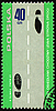 Photo 300 DPI: Rules of the road on post stamp